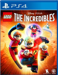 LEGO The Incredibles AS Chinese/English PS4