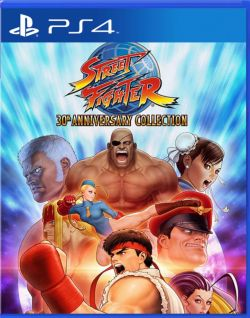 Street Fighter: 30th Anniversary Collection Asia English PS4