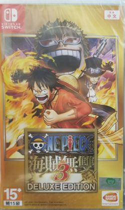 One Piece: Kaizoku Musou 3 Delux Chinese/English NS