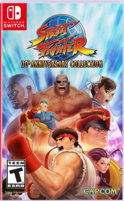 Street Fighter: 30th Anniversary Collection US English NS